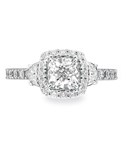 Nightingale Engagement Ring - Setting