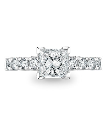 Olivia Engagement Ring - Setting