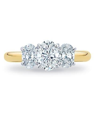 Ameile Engagement Ring - Setting