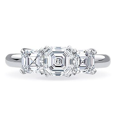 Alexandra Engagement Ring - Setting