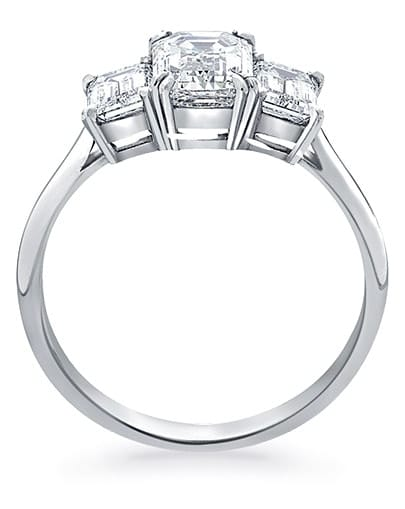 Elise Engagement Ring - Profile