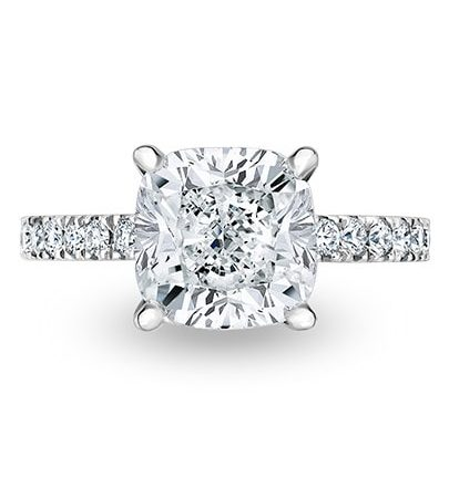 Juliette Engagement Ring - Setting