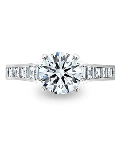Celeste Engagement Ring - Setting