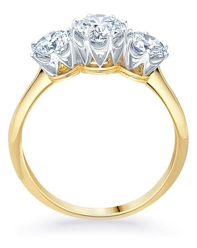 Grace Engagement Ring - Profile