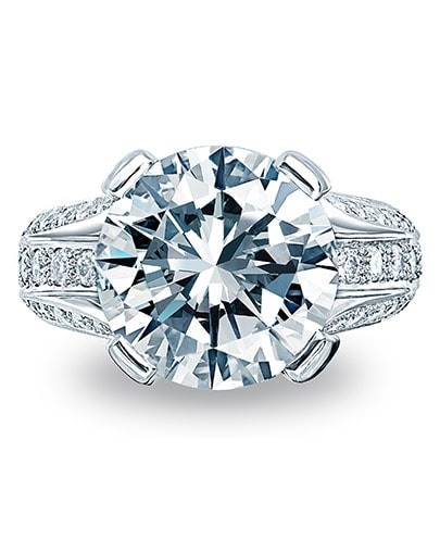 Monaco Engagement Ring - Setting