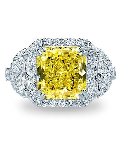 Summer Yellow Radiance - Setting