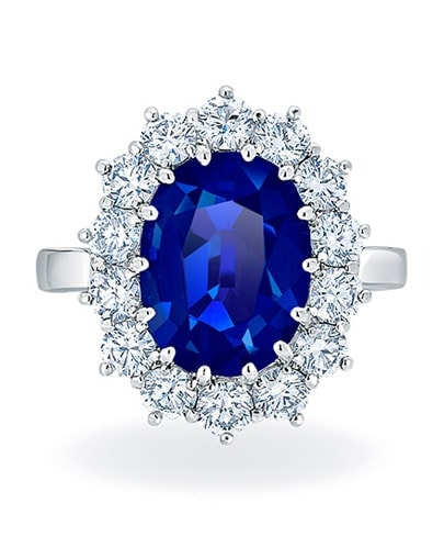 Abigail Precious Gemstone Ring - Setting