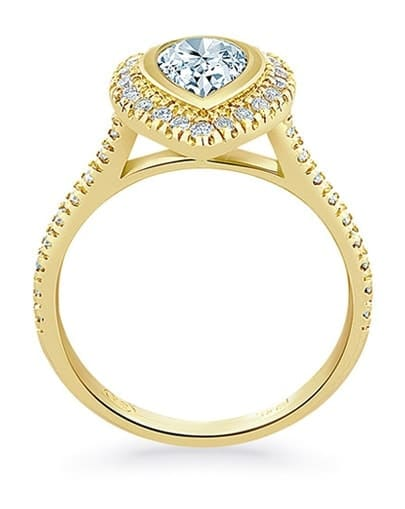 Coco Engagement Ring - Profile