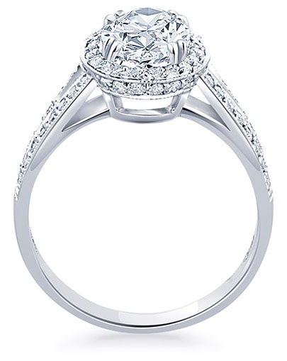 Clementine Engagement Ring - Profile