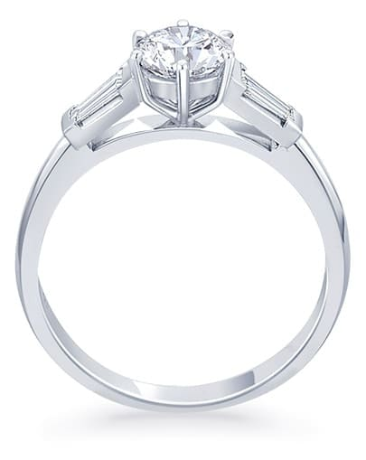 Eva Engagement Ring - Profile
