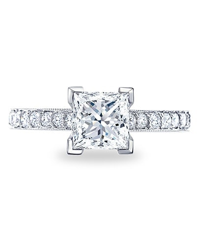 Halle Engagement Ring - Setting
