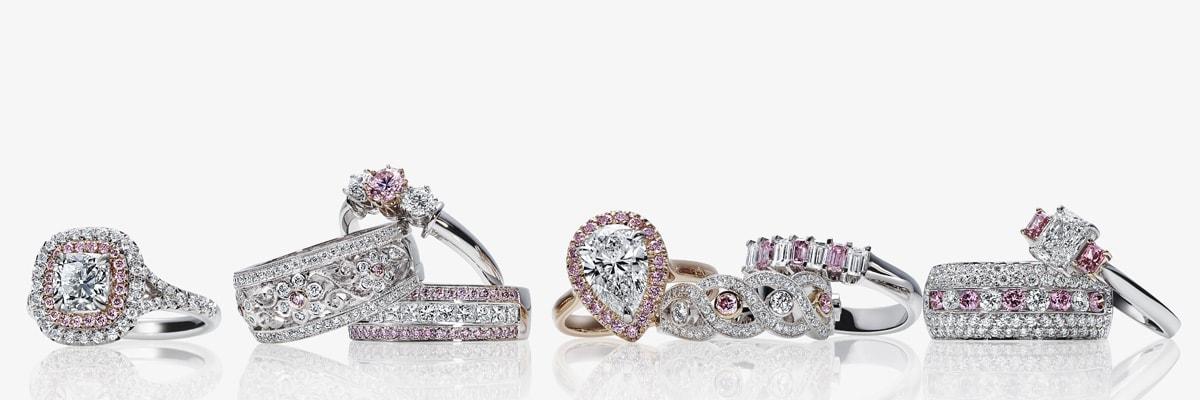 Argyle Pink Diamond Engagement Rings Amp Jewellery Paul Bram
