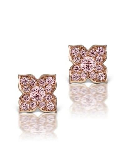 Pink Argyle Diamond Earrings